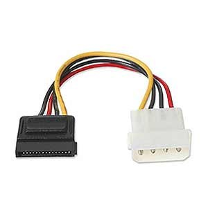 AX3237 SATA 4PIN IDE to 1 SATA Power Cable