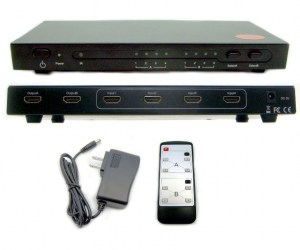 HSS0402 HDMI Matrix Switch Splitter (4Input - 2Output)