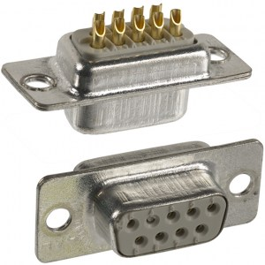 NDO13-09S DB9 Female Connector