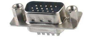 NDO13-H15P HDDB15 VGA Male Connector