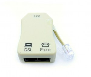 RJ11-61063B   Telephone Line Splitter (DSL Phone)
