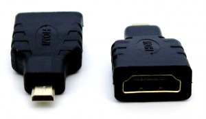 UST-GC6001   Micro HDMI(M) to HDMI(F) Adapter