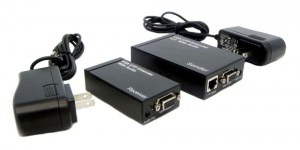 VRP01 VGA Extender w audio (Transmitter Receiver Single Port)
